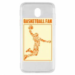 Чохол для Samsung J7 2017 Basketball fan