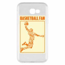 Чохол для Samsung A7 2017 Basketball fan
