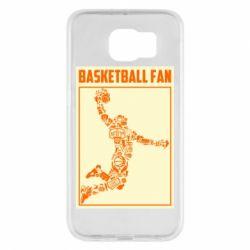 Чохол для Samsung S6 Basketball fan