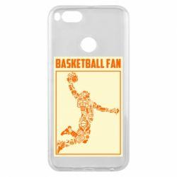 Чохол для Xiaomi Mi A1 Basketball fan