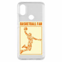 Чохол для Xiaomi Mi A2 Basketball fan