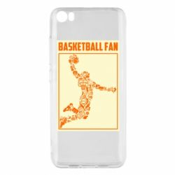 Чохол для Xiaomi Mi5/Mi5 Pro Basketball fan