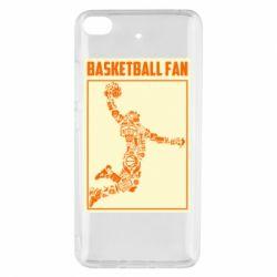 Чохол для Xiaomi Mi 5s Basketball fan
