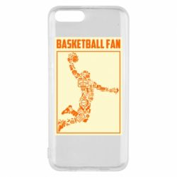Чохол для Xiaomi Mi6 Basketball fan
