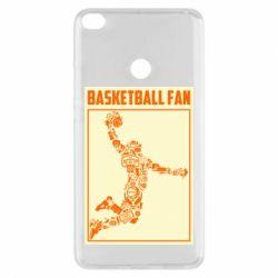 Чохол для Xiaomi Mi Max 2 Basketball fan