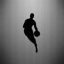 Наклейка Basketball Logo - FatLine