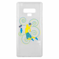Чохол для Samsung Note 9 Basketball player and flowers