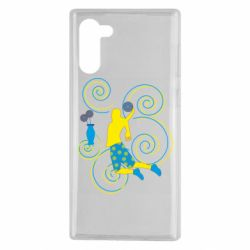 Чохол для Samsung Note 10 Basketball player and flowers