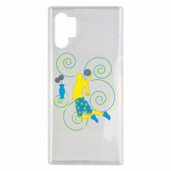Чохол для Samsung Note 10 Plus Basketball player and flowers