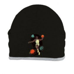 Шапка Basketball player and space