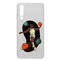 Чехол для Xiaomi Mi9 Basketball player and space