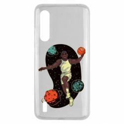 Чехол для Xiaomi Mi9 Lite Basketball player and space