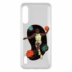 Чохол для Xiaomi Mi A3 Basketball player and space