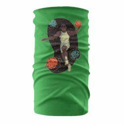 Бандана-труба Basketball player and space