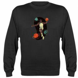 Реглан (свитшот) Basketball player and space