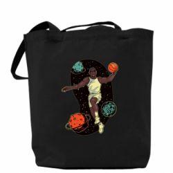 Сумка Basketball player and space