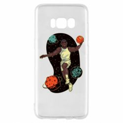 Чехол для Samsung S8 Basketball player and space