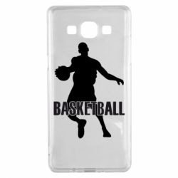 Чехол для Samsung A5 2015 Basketball - FatLine