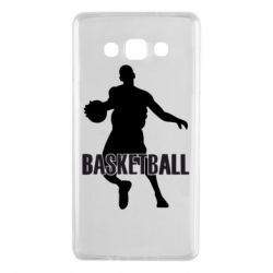 Чехол для Samsung A7 2015 Basketball - FatLine