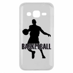 Чехол для Samsung J2 2015 Basketball - FatLine