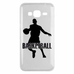 Чехол для Samsung J3 2016 Basketball - FatLine