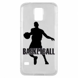 Чехол для Samsung S5 Basketball - FatLine