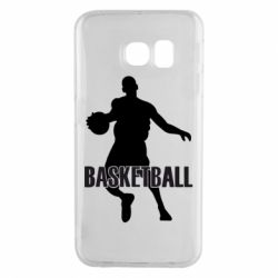 Чехол для Samsung S6 EDGE Basketball - FatLine