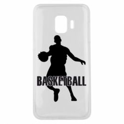 Чехол для Samsung J2 Core Basketball - FatLine