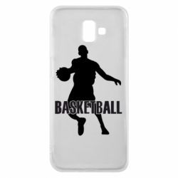 Чехол для Samsung J6 Plus 2018 Basketball - FatLine
