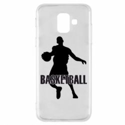 Чехол для Samsung A6 2018 Basketball - FatLine