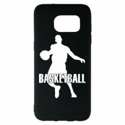 Чехол для Samsung S7 EDGE Basketball - FatLine
