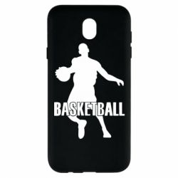 Чехол для Samsung J7 2017 Basketball - FatLine
