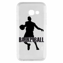Чехол для Samsung A3 2017 Basketball - FatLine