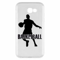 Чехол для Samsung A7 2017 Basketball - FatLine