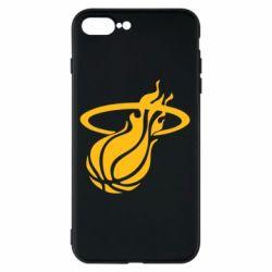 Чохол для iPhone 8 Plus Баскетбольний м'яч в кільця