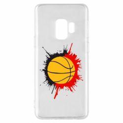 Чехол для Samsung S9 Баскетбольный мяч - FatLine