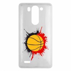 Чехол для LG G3 mini/G3s Баскетбольный мяч - FatLine