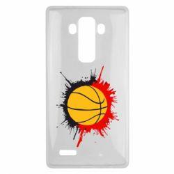 Чехол для LG G4 Баскетбольный мяч - FatLine
