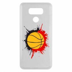 Чехол для LG G6 Баскетбольный мяч - FatLine