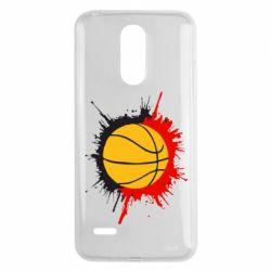 Чехол для LG K8 2017 Баскетбольный мяч - FatLine