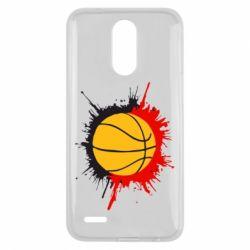 Чехол для LG K10 2017 Баскетбольный мяч - FatLine