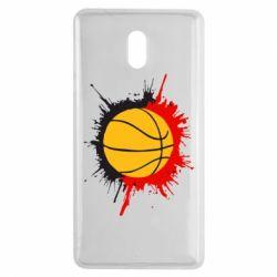 Чехол для Nokia 3 Баскетбольный мяч - FatLine