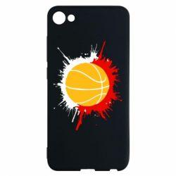 Чехол для Meizu U10 Баскетбольный мяч - FatLine