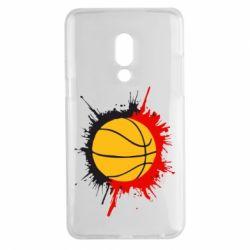 Чехол для Meizu 15 Plus Баскетбольный мяч - FatLine