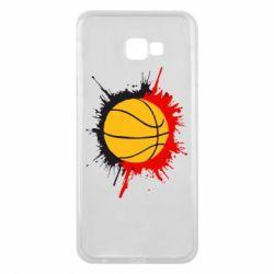 Чехол для Samsung J4 Plus 2018 Баскетбольный мяч - FatLine