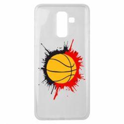 Чехол для Samsung J8 2018 Баскетбольный мяч - FatLine
