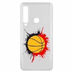Чехол для Samsung A9 2018 Баскетбольный мяч