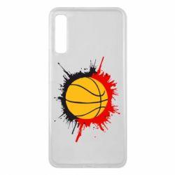 Чехол для Samsung A7 2018 Баскетбольный мяч - FatLine