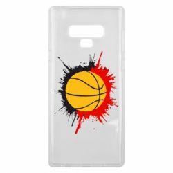Чехол для Samsung Note 9 Баскетбольный мяч