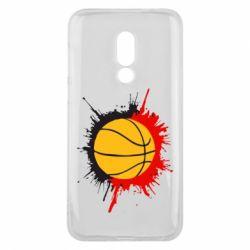 Чехол для Meizu 16 Баскетбольный мяч - FatLine